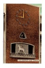 Warwickshire - Coventry, Broadgate House, Clock - Picture Postcard