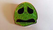 Jack Skellington Head Frustrated Green Nightmare christmas Disney Paris Dlp pin