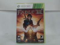 FABLE III XBOX 360 COMPLETE IN BOX W/ MANUAL CIB VERY GOOD