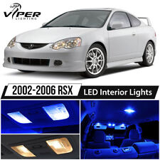 2002-2006 Acura RSX Blue LED Interior Lights Package Kit