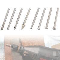 20pc HSS forets rotatifs Burr de gravure de tête de carbure outil de bois fr