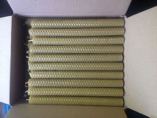 80 PCS 100% BEESWAX  HAND ROLLED CANDLES