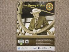 2014 Tennis Hall of Fame Commemorative Program 60th Anniversary