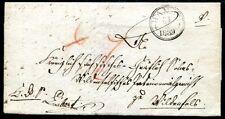 HANAU 1839 schöner VORPHILABRIEF(J3928