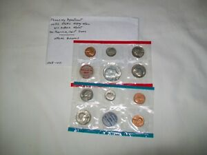 1969 P & D Philadelphia & Denver Mint Uncirculated Coin SET