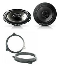 Peugeot 207 2006-2012 Pioneer 17cm Front Door Speaker Upgrade Kit 240W