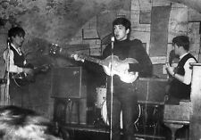 "Beatles at The Cavern Club 10"" x 8"" Photograph no 27"