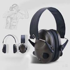 Foldable Anti-Noise Tactical Shooting Headset Soft Padded Electronic Earmuff UI