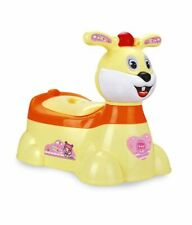 NEW BABY TODDLER FUN POTTY TRAINING MUSICAL TOILET SEAT TRAINER CHAIR STOOL GIRL