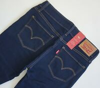 LEVI'S 714 STRAIGHT Jeans Women's, Authentic BRAND NEW (218340015)