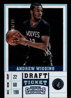 2017-18 Panini Contenders Draft Picks Draft Ticket Singles (Pick Your Cards)