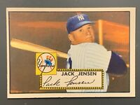 1952 Topps #122 Jackie Jensen EXMT-NM New York Yankees