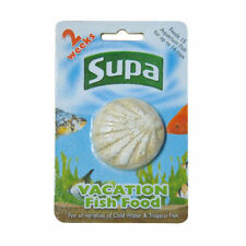 Supa Vacation 2 Week Holiday Fish Food Aquarium Block 25-Gram S210