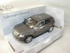 "Volkswagen Touareg Grey Die Cast Metal Model Car 5"" New In Box"