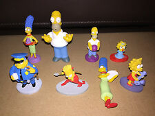8 The Simpsons Figuras Juguete de Plástico Cake Toppers