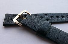 Swiss Tropic STAR watch strap.18mm. PREMIUM dive buckle. NEW. Swiss Made.1970's