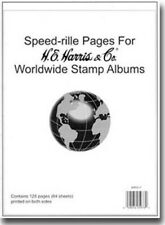 He Harris Speedrille Pages Worldwide Stamp Albums 64 Sheets New Pack