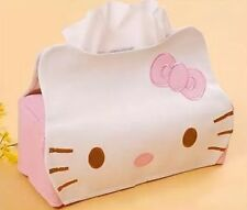 NEW 1Pcs Hello Kitty Cat Car Seat Style Tissue Box Car Accessories