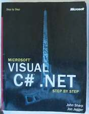 VISUAL C# .NET STEP BY STEP - JOHN SHARP / JON JAGGER - MICROSOFT PRESS 2002 VER