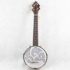 Banjolele Banjo Ukulele Banjolele Tenor Banjo Uke Tattoo Patten+Tuner SET