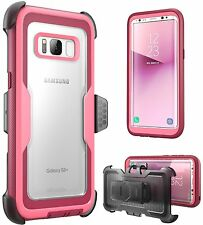 i-Blason Galaxy S8+ Plus Case Armorbox No Screen Protector Holster Belt Clip 17
