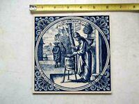 Delft Holland Tile Handmade, De Apoteeker