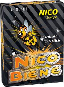 Jugend-Kinderfeuerwerk  120 Bodenfeuerwirbel  24x5er Packs Nico Biene