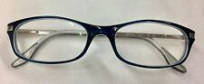 Mercedes Benz MB02402 Silver/Blue Titanium Eyeglass RX Frames 54 17 140