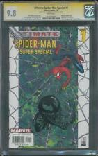 Ultimate Spider Man Special 1 CGC SS 9.8 Michael Golden Venom head sketch
