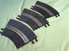 THREE RARER SCALEXTRIC CLASSIC TRACK CHICANE CURVES IN USED CONDITION