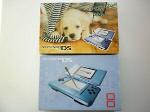 Console Nintendo DS 1ère génération de couleur bleue pak Nintendogs Labrador