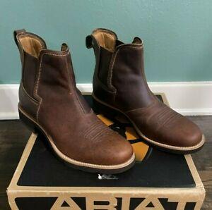 Ariat Men's Brown Rambler Boots 10.5 D