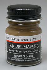 Testors Model Master Dark Earth ANA617 1/2oz Enamel Paint 2054 TES2054