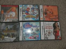 Nintendo DS Video Games  pet shop,olympic mario,nintendogs,nancy drew