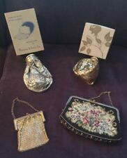 4 Antique  Mesh/Needlepoint Evening Bags- 1 whiting & Davis Co.