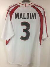2001-02 AC Milan Maldini #3 Away Jersey Size XL