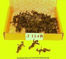 j114b BULK BONUS BUY jouef ho spare 1x 50 black couplings hornby dublo type hook