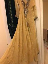 Beautiful Asian Formal Wedding Mehndi Dress