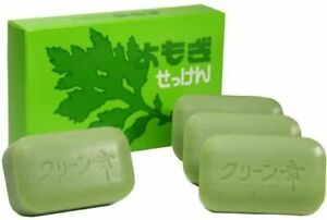 Mugwort soap four boxes 35539 fromJAPAN