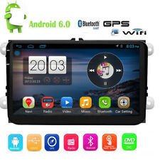 """Android 6.0 3G WIFI 9"""" INCH Double 2 DIN Car Radio Stereo GPS Navi For VW Passat"""