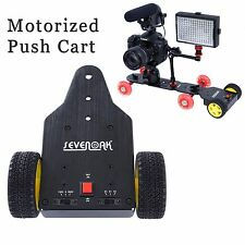 SEVENOAK SK-MS01 Dolly Tractor Motorized Push Cart for Canon Nikon Camera Gopro