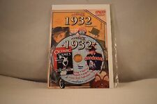 Flickback Greeting or Birthday Card With DVD  For Those Born in 1932    (v417)