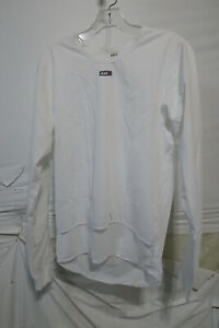 Louis Garneau SF-2 Long Sleeve Plastron Top Men's Small White Retail $59.99
