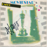"""HARPO - Moviestar / I Don't Know Why - 7"""" Single - Coverhülle SIGNIERT"""