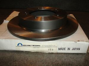 Nos Disc Brake Rotor Front Beck/Arnley 083-2288 Geo Tracker,Suzuki Sidekick,X-90