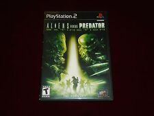 Aliens vs. Predator Extinction --- Sony PlayStation 2 - PS2 --- Great Condition