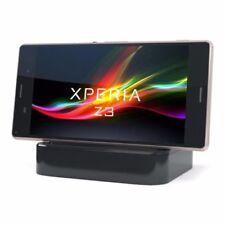 Cargadores, bases y docks negro Para Sony Xperia Z3 para teléfonos móviles y PDAs