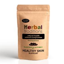 Black Seed Oil & Vitamin E Softgels - for Healthy Skin