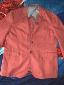 "Frank & Oak Men's ""Laurier Fit"" Red Blazer Size 44R"