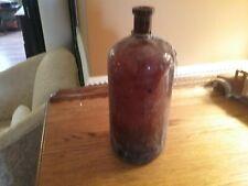 antique bottle brown